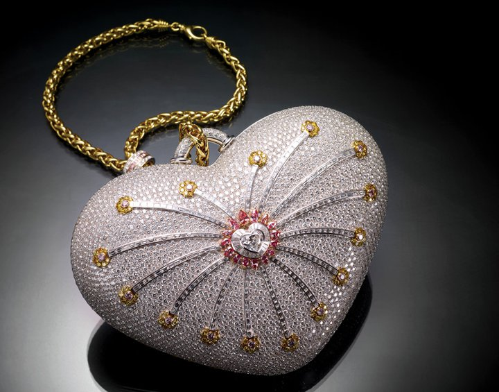 1001 nights diamond purse